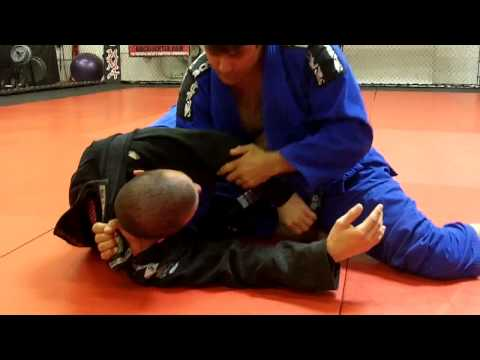 Jiu Jitsu - Lapel Choke From Side Control Image 1