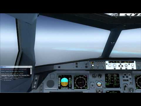 OMAN AIR A330-300 Dubai to Muscat (Full Flight)