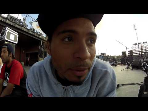 Manny Santiago- Short Interview at Maloof Money Cup 2012