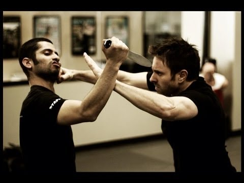 Knife Defense : Krav Maga Technique : KMW KravMaga Self Defense w/ AJ Draven Image 1