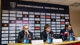 Пресс-конференция после матча со СКА