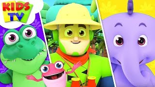 Walking in the Jungle | The Supremes Cartoons | Children Songs & Videos For Babies - Kids TV