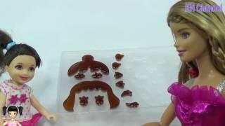 Thơ Nguyễn - Búp bê dạy con gái làm kẹo ngon cực