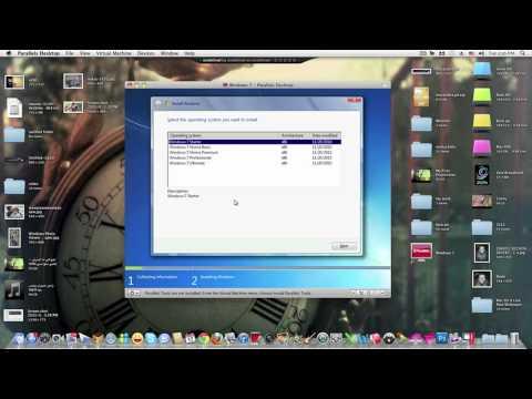 شرح لتنصيب الويندوز على برنامج Parallels على نظام الماك