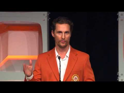 Matthew McConaughey - 2014 Distinguished Alumnus Award Acceptance Speech