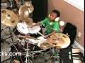 Metallica - Harvester of Sorrow, Drum Cover, 4 Year Old Drummer