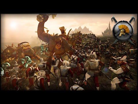 EPIC LAST STAND! - Total War: WARHAMMER Gameplay