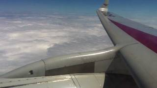 TU204 Approach Landing and Taxi in Moscow Domodedovo.MOV