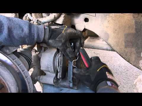 Replacing the Front Brakes on a Chevy K1500 4x4