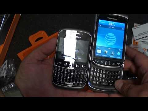 Unboxing the BlackBerry Curve 9310 from Boost Mobile