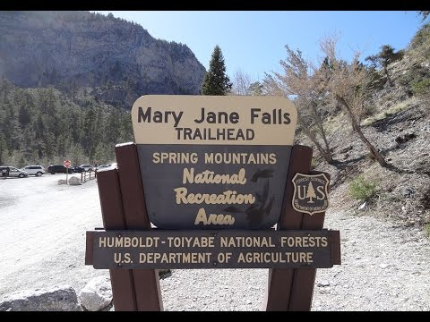 Mount Charleston Hiking Mary Jane Falls Las Vegas