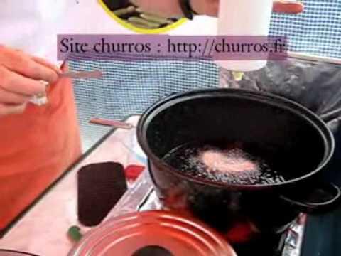 Recette des churros et des chichis en video