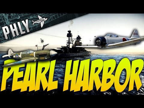 War Thunder - Pear Habor! - A6M2 & P-40 War Thunder Gameplay!
