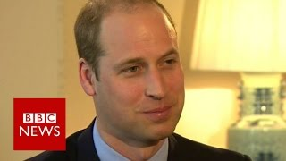 Prince William: 'I don't lie awake waiting to be king' BBC News