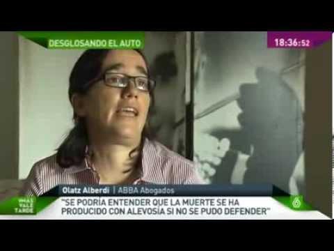 Declaraciones sobre el crimen de Asunta Basterra por Olatz Alberdi para la Sexta