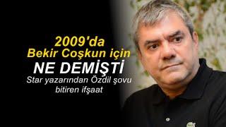 Mustafa Nihat Yükselir : Yılmaz Özdil'in Aydın Doğan'a posta koymasına inanalım mı?