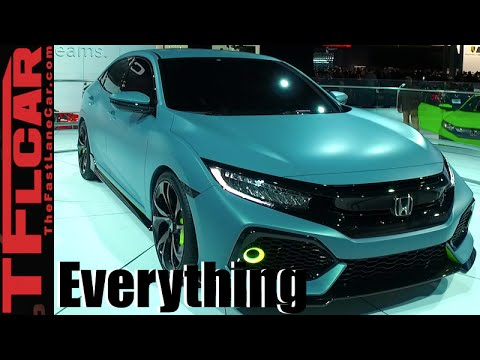 2017 Honda Civic Hatchback: Everything You Ever Wanted to Know