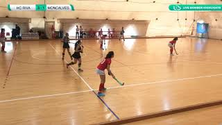🏑 Highlights #U21F #Indoor ~ Hc Riva vs Moncalvese 3-2 🥅