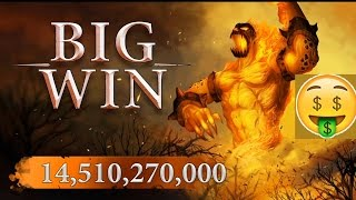 Scatter Slots Playing on max bet 2 big win
