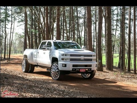 BRAND NEW 2017 Chevy High Country Dually with 28s and much more!
