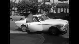 The Best Volvo 1800 Car Chase Ever! - Roger Moore in \
