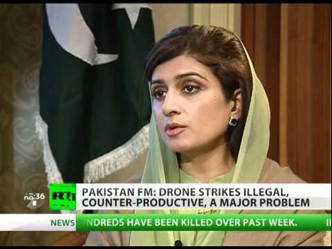 'Drone attacks illegal, fuel terror' - Pakistani FM