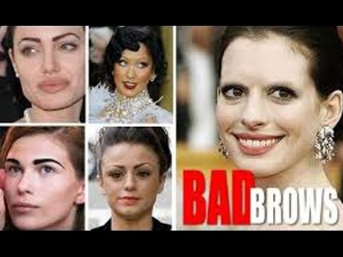 5 EYEBROW SHAPES TO AVOID!!!!