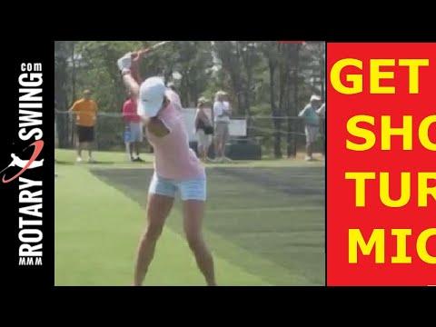 Michelle Wie US Open Champion Huge Shoulder Turn