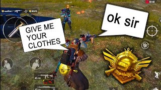 Trolling Players in Conqueror League Funny Moments.... | Pubg Mobile Asia Gameplay