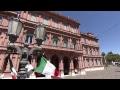 Mauricio Macri recibe al Primer Ministro de Italia.