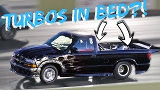 Turbo's in the BED - S10 Dominates Small Tire Competition!
