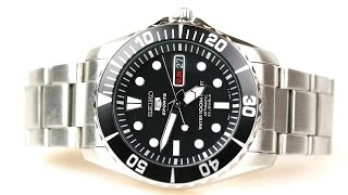 "Bond on a budget - The Seiko SNZF17 K1 ""Sea Urchin"""