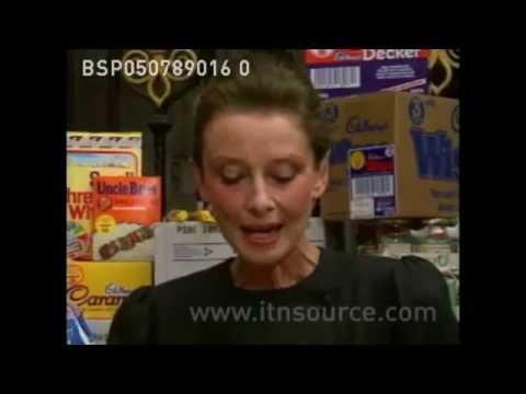 Audrey Hepburn UNICEF Interview at London Supermarket