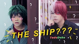 THE YAOI SHIP?? | When Midoriya knows about the ship (My hero academia cosplay)