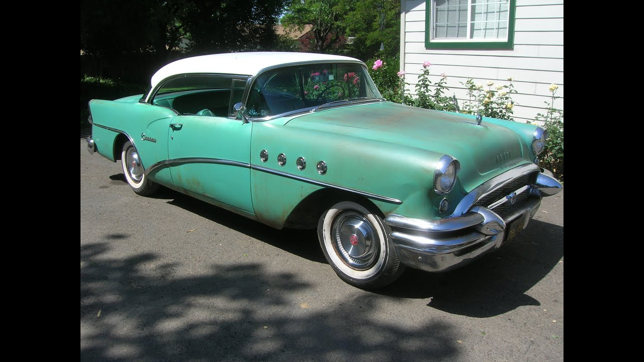 1955 Buick Century Two Door Hardtop Cool Great Barn Find Youtube