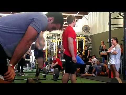 Scott Wells - Superhuman Open Prep, WOD #3 - 1/7/2012
