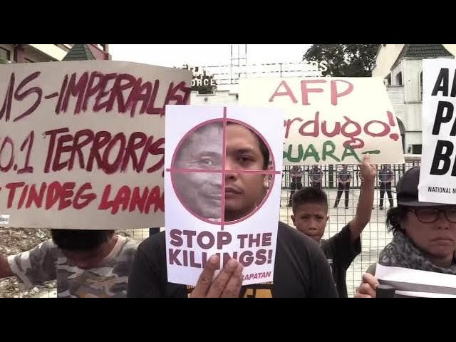 Groups protest vs martial law extension in Mindanao
