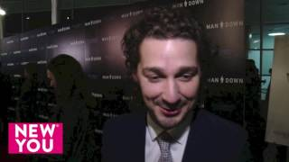 Man Down Premier Shia LaBeouf