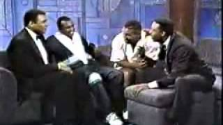 koksal1.com Muhammed Ali and Mike Tyson on same talk show P2 rare