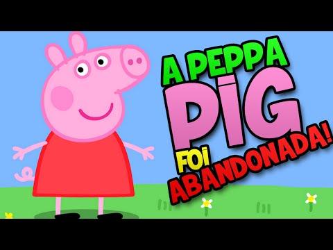 A PEPPA PIG FOI ABANDONADA!!