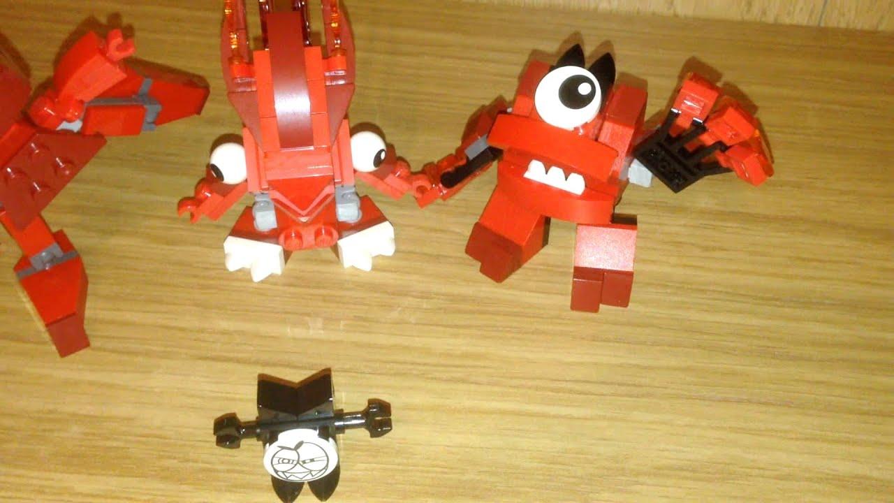 Mixels Flain Lego Mixels Flain Vulk