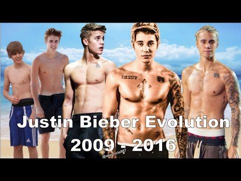 Justin Bieber - Music Evolution (2009-2017)