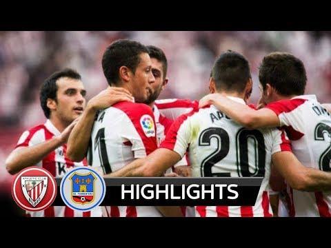 |HD| Athletic Bilbao vs Formentera 0-1 - Highlights - Copa Del Rey