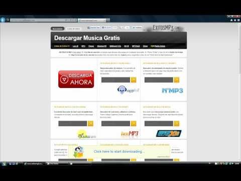 Cómo descargar música gratis desde ExitosMP3.com con Hulkshare