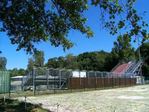 An athletic time travel through Cottbus