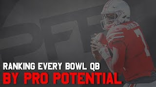 Ranking every bowl QB by pro potential | PFF