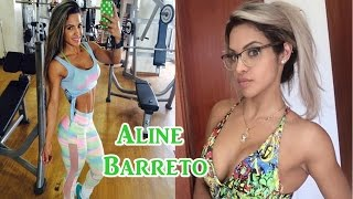 Aline Barreto - Brazilian Fitness Girl / Full Workout & All Exercises