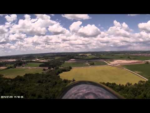 Whitby Aeromodellers Field from 2m Powered Glider