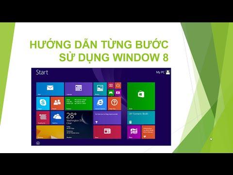 [Hướng dẫn windows 8] Làm quen với giao diện Windows 8 | video hướng dẫn sử dụng menu screen