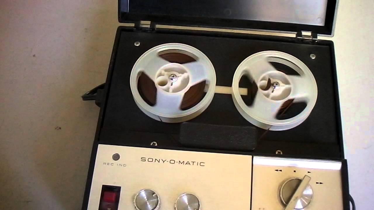 Sony Recording Sony o Matic Tape Recorder
